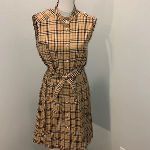 NWOT women's Burberry dress L